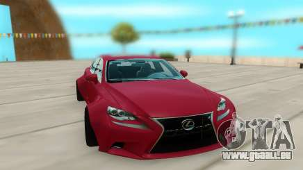 Lexus IS 350 pour GTA San Andreas
