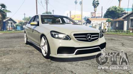 Mercedes-Benz E63 AMG (W212) 2013 [replace] pour GTA 5