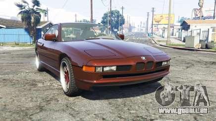 BMW 850i (E31) [replace] pour GTA 5