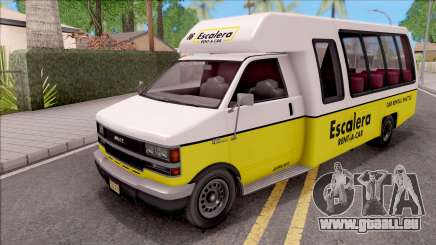 GTA V Brute Rental Shuttle Bus IVF pour GTA San Andreas