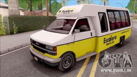 GTA V Brute Rental Shuttle Bus IVF für GTA San Andreas