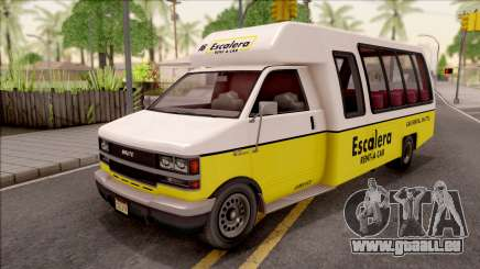 GTA V Brute Rental Shuttle Bus pour GTA San Andreas