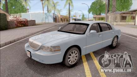 Lincoln Town Car L Signature 2010 IVF No Dirt pour GTA San Andreas
