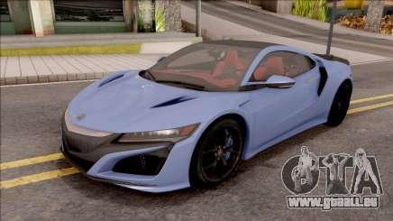 Acura NSX 2016 für GTA San Andreas