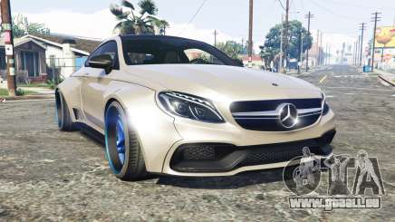 Mercedes-Benz C 63 S AMG widebody [add-on] pour GTA 5
