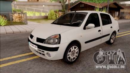 Renault Clio blanc pour GTA San Andreas