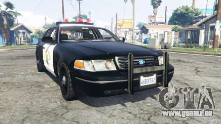 Ford Crown Victoria Highway Patrol [replace] für GTA 5