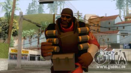 Team Fortress 2 - Demo Skin v2 pour GTA San Andreas