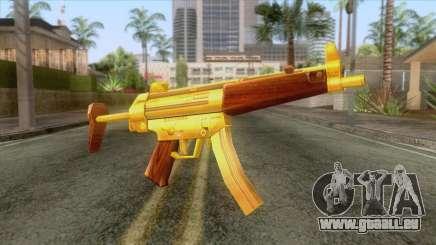 Gold MP5 für GTA San Andreas