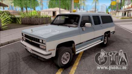Chevrolet Suburban 1989 HQLM pour GTA San Andreas
