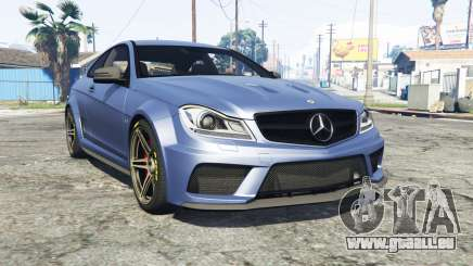 Mercedes-Benz C63 AMG (C204) 2012 v1.1 [replace] pour GTA 5