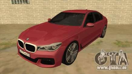 BMW 7-Series M Sport für GTA San Andreas