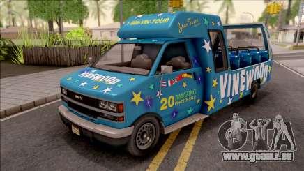 GTA V Brute Tour Bus pour GTA San Andreas