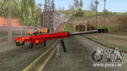 Barrett M82A1 Anti-Material Sniper Rifle v2 für GTA San Andreas
