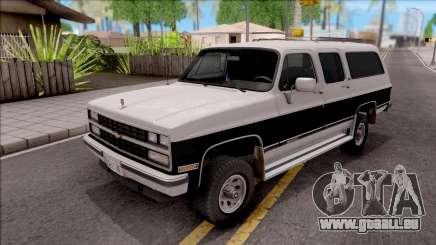 Chevrolet Suburban 1989 IVF pour GTA San Andreas