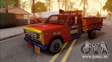 Ford F-400 Wason CSAGAZ (Gas Truck) pour GTA San Andreas