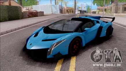Lamborghini Veneno Roadster für GTA San Andreas