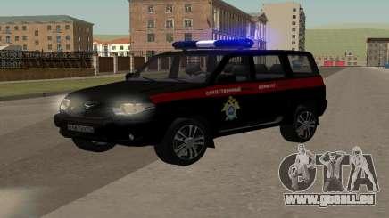 UAZ Patriot (Restyling ll) le Comité d'Enquête pour GTA San Andreas