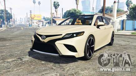 Toyota Camry XSE 2018 [add-on] für GTA 5