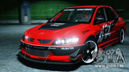 2006 Mitsubishi Lancer Evolution IX 2.0 pour GTA 5