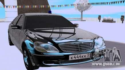 Mercedes-Benz S-class W220 für GTA San Andreas