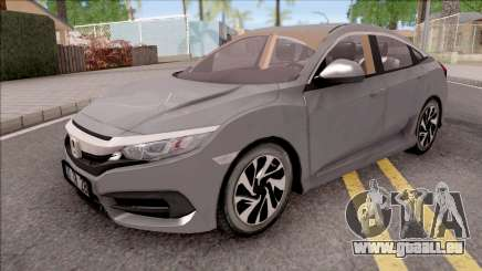 Honda Civic FC5 Low Poly with Xenon pour GTA San Andreas