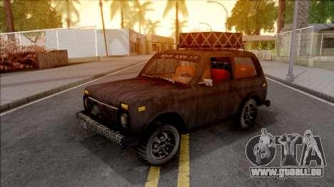 Lada Niva 1971 Black Edition 3.0 pour GTA San Andreas