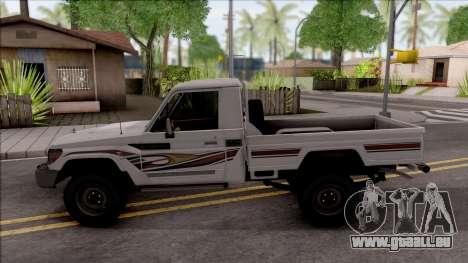 Toyota Land Cruiser J79 für GTA San Andreas