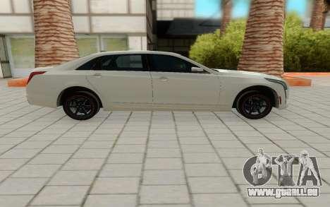Cadillac CT6 pour GTA San Andreas laissé vue