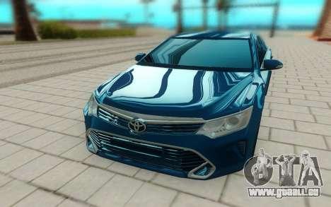 Toyota Camry V55 pour GTA San Andreas vue arrière