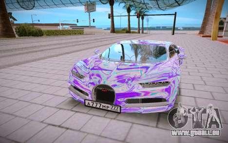 Bugatti Chiron für GTA San Andreas