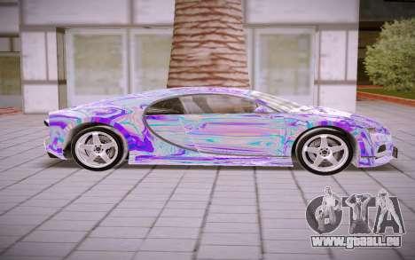 Bugatti Chiron pour GTA San Andreas