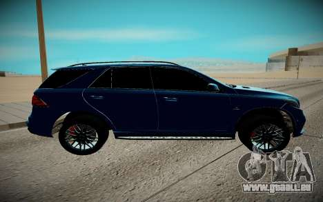 Mercedes-Benz Gl 63 AMG für GTA San Andreas linke Ansicht
