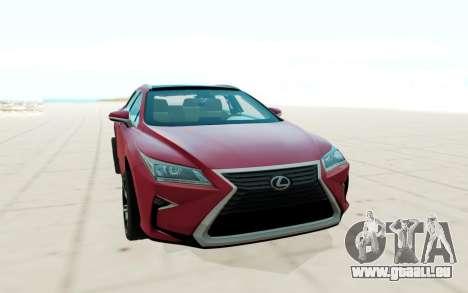 Lexus RX350 für GTA San Andreas