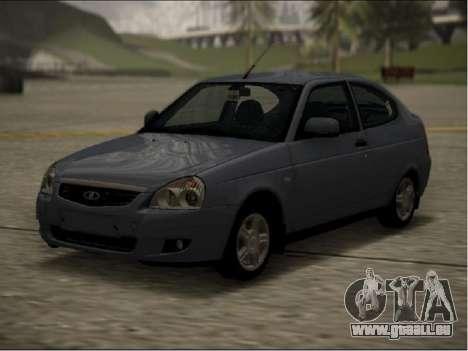 Lada Priora Coupe pour GTA San Andreas