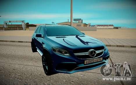 Mercedes-Benz Gl 63 AMG für GTA San Andreas