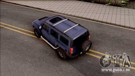 Hummer H3 2010 für GTA San Andreas
