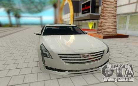 Cadillac CT6 pour GTA San Andreas vue de droite