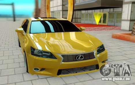 Lexus GS 350F pour GTA San Andreas