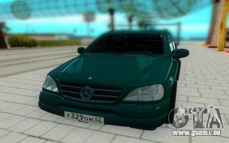 Mersedes-Benz ML 230 pour GTA San Andreas vue de droite