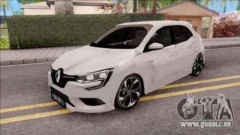 Renault Megane 4 Hatchback Low Poly pour GTA San Andreas