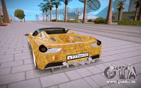 Ferrari 488 Spyder pour GTA San Andreas