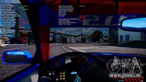 GTA 5 Simple Trainer v6.4 vierten Screenshot