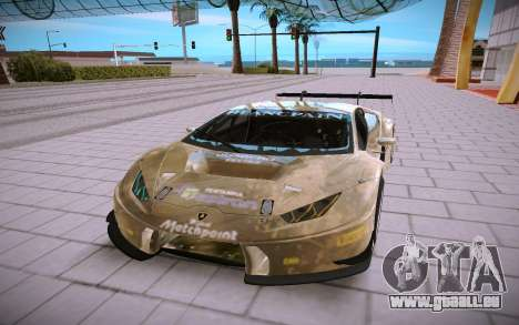 Lamborghini Huracan GT3 pour GTA San Andreas