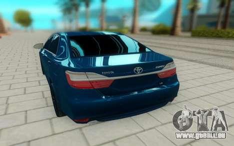 Toyota Camry V55 pour GTA San Andreas sur la vue arrière gauche