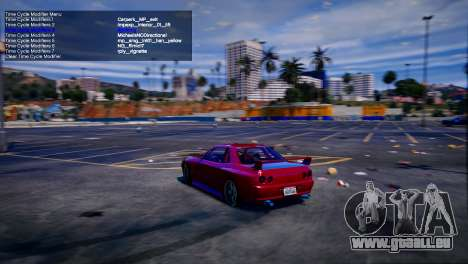GTA 5 Simple Trainer v6.4 fünfter Screenshot