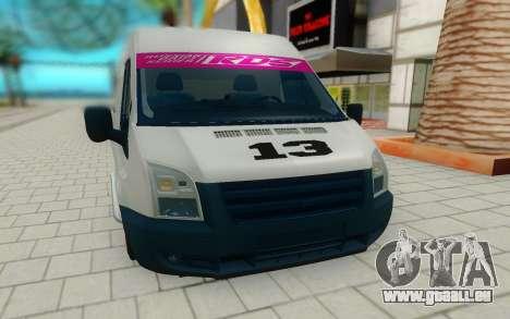 Ford Transit pour GTA San Andreas