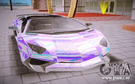 Lamborghini Aventador SV Roadster pour GTA San Andreas