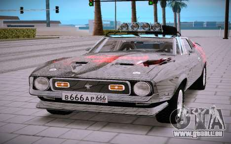 Shelby GT500 pour GTA San Andreas