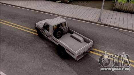 Toyota Land Cruiser J79 pour GTA San Andreas